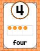 Polka Dot Number Posters (Rainbow Big Dots)-Classroom Decor