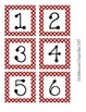 Polka Dot Number Sets Bundle