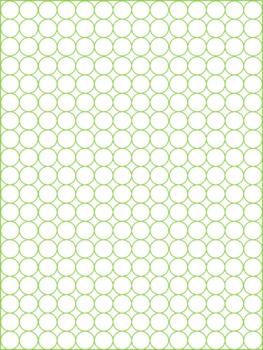 Polka Dot Outlines on White: Backgrounds & Frames (Commercial Use OK)