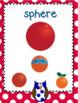 Polka Dot Owl 3-D Shape Posters