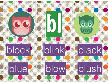 Polka Dot Owl Beginning Blends
