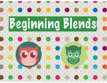 Polka Dot Owl Beginning Blends