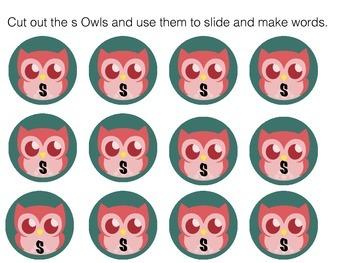 Polka Dot Owl Teaching S Words!