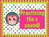 Polka Dot Owl Teaching S Words!
