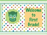 Polka Dot Owl Welcome Signs!