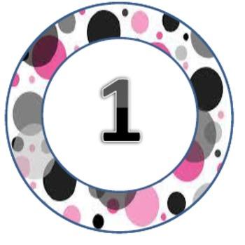 Polka Dot Pack1 Circles 1-31