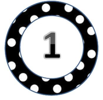Polka Dot Pack3 Circles 1-31