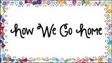 Polka-Dot Paint Splatter How We Go Home Chart