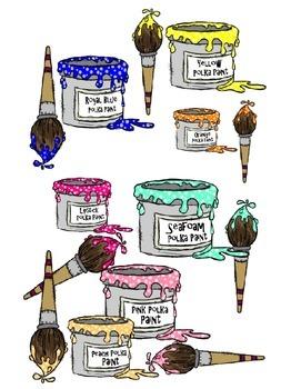 Polka Dot Paints (Embellish Yourself Artworks)