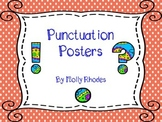 Polka Dot, Paisley, and Owl Punctuation Posters