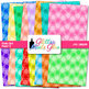 Rainbow Polka Dot Paper   Scrapbook Backgrounds for Task Cards & Class Decor 2