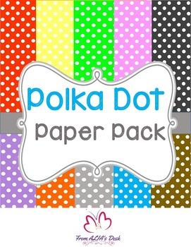 Polka Dot Paper Pack