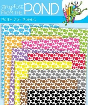 Polka Dot Papers - Digi Paper Set