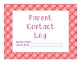 Polka Dot Parent Contact Log