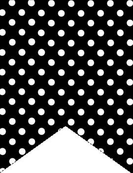 Polka Dot Pendants! 70 Styles! Customize and Print!