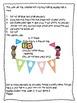 Polka Dot Photo Banner for Display of 1st Grade Work