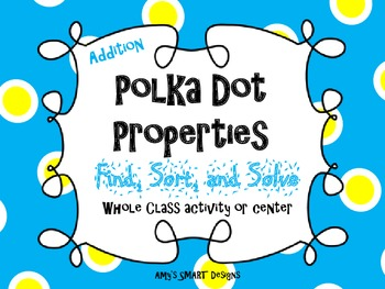 Polka Dot Properties: Find, Sort, and Solve