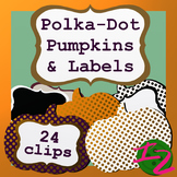 Polka-Dot Pumpkins and Labels