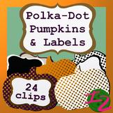 Polka-Dot Pumpkins and Labels