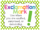 Polka Dot Punctuation & Parts of Speech Posters