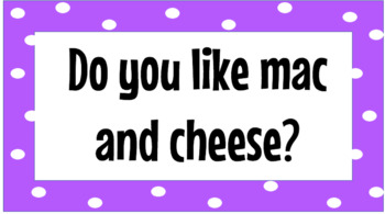 Polka Dot Question of the Day