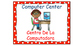 Polka Dot (Red) Bilingual Learning Centers Signs