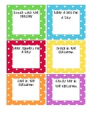 Polka Dot Rewards Sign up Sheets