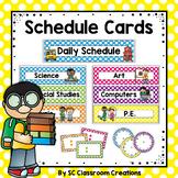 Polka Dot Schedule Cards-Classroom Decor