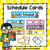 Polka Dot Schedule Cards (Scribble Dots)-Classroom Decor