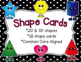 Polka Dot Shape Cards
