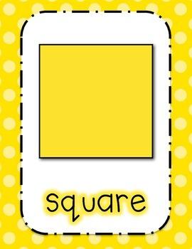 Shape Posters (Polka Dot )