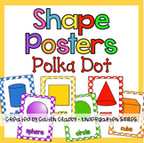 Shape Posters (Primary Polka Dot )