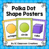 Polka Dot Shape Posters (Rainbow Big Dots)-Classroom Decor