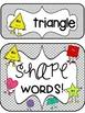 Polka Dot Shape and Color Classroom Decor Posters!