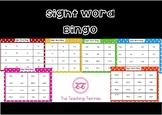 Polka Dot Sight Word Bingo