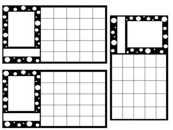 Polka Dot Sticker Chart