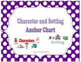 Polka Dot Story Elements Anchor Charts