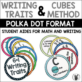 Polka Dot Student Aides and Posters Bundle