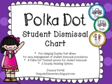 Polka Dot Student Dismissal Chart (How We Go Home)