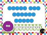 Polka Dot Student Number Lines
