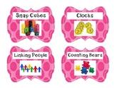 Polka Dot Supply/ Manipulative Labels
