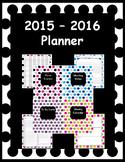 Polka Dot Planner 2016 - 2017