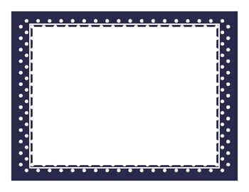 Polka Dot Template or Background - Free Mini-Pack
