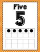 Polka Dot Ten Frame Posters (0-20)