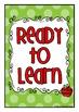 Polka Dot Theme Classroom Behavior Clip Up Chart