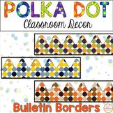 Printable Bulletin Board Border-Polka Dot