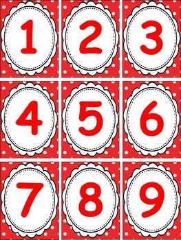 Polka Dot Theme Classroom Decor Bundle