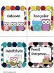 {Polka Dot Theme } Classroom Jobs With Owls