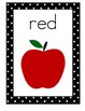 Polka Dot Theme Color Posters, Z. Bloser Style