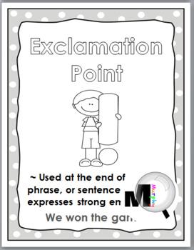Punctuation Posters - Polka Dot Classroom Decor